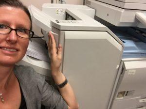 Printing the dissertation