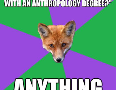 What can you do with a degree in anthropology?